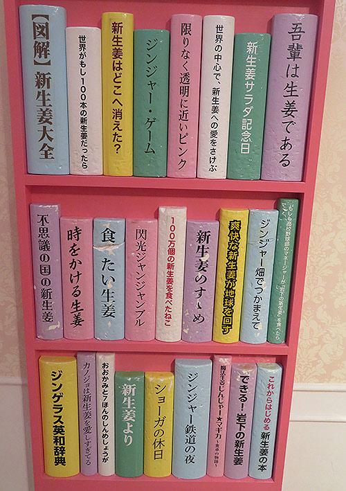 新生姜の本棚