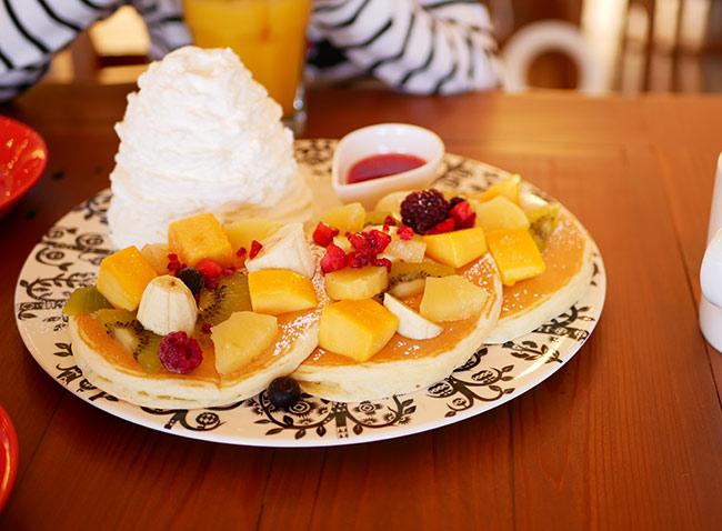フル-ツパンケーキ ¥1380
