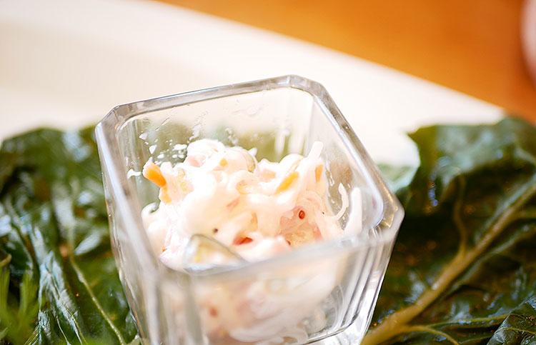 針野菜のサラダ