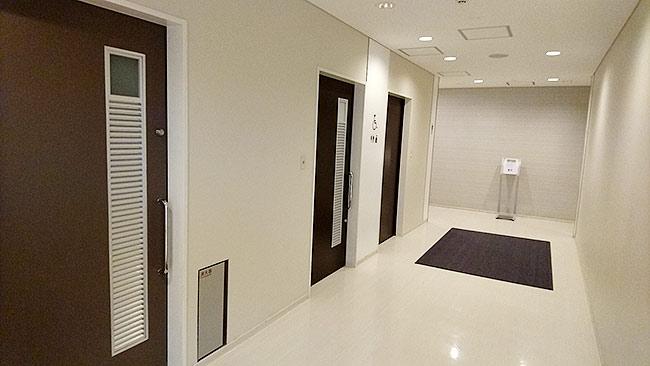 茨城空港のトイレ