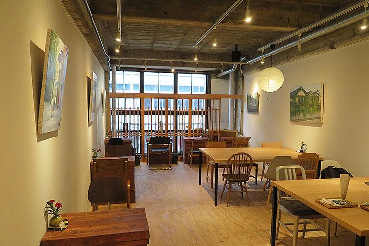 wakuracafe 2階客席全体