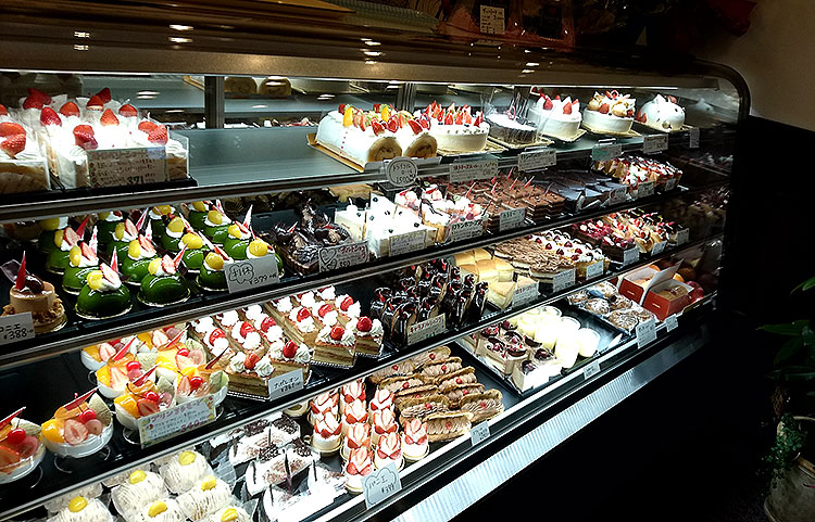ルクプル小山駅東店 ケーキ