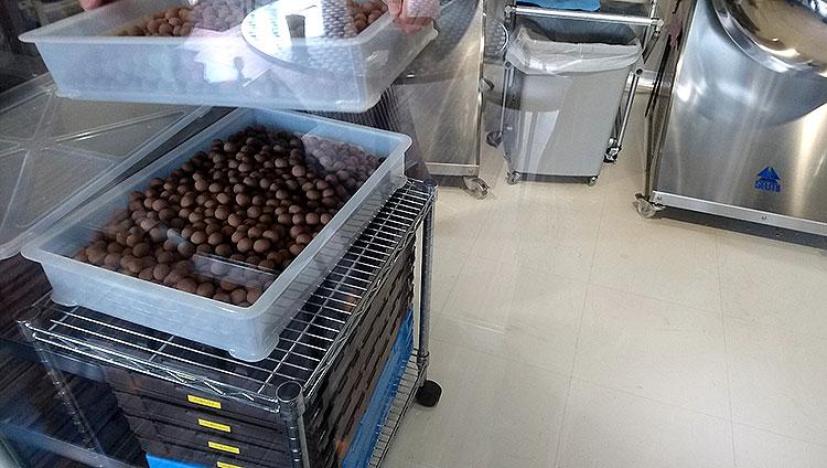 軽井沢チョコレートファクトリー 工場