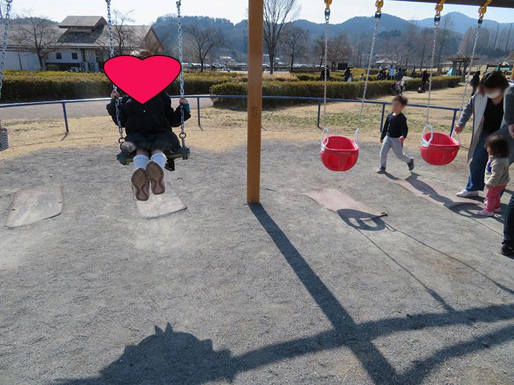 永野川緑地公園 ブランコ