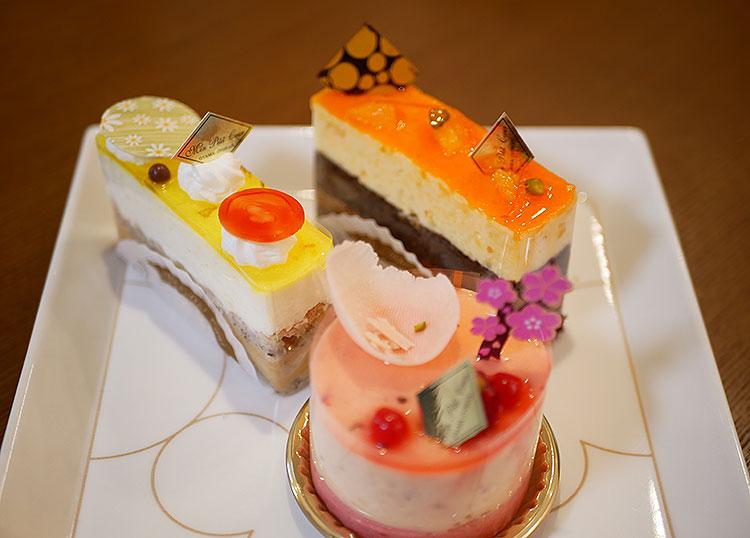 モンプチクール ケーキ3種