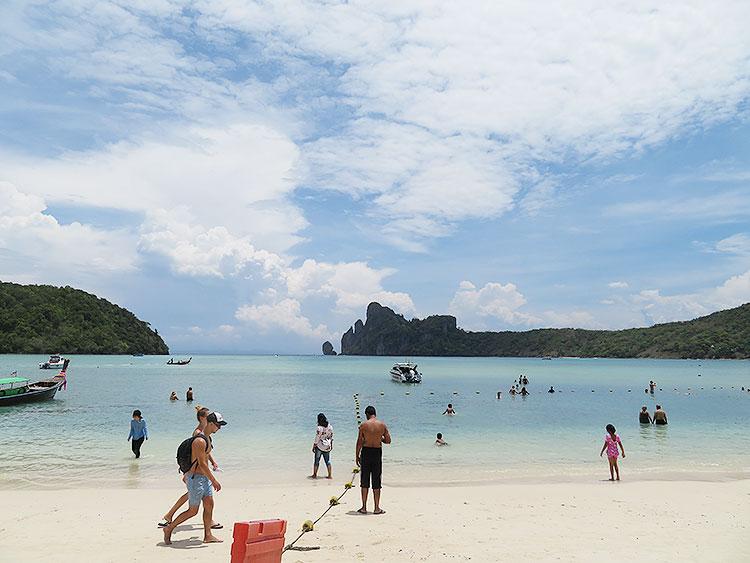 ピピ島 海2