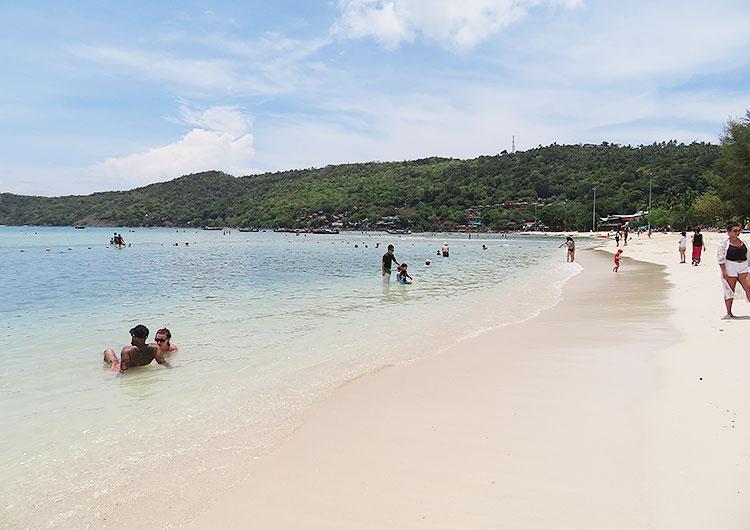ピピ島 海1