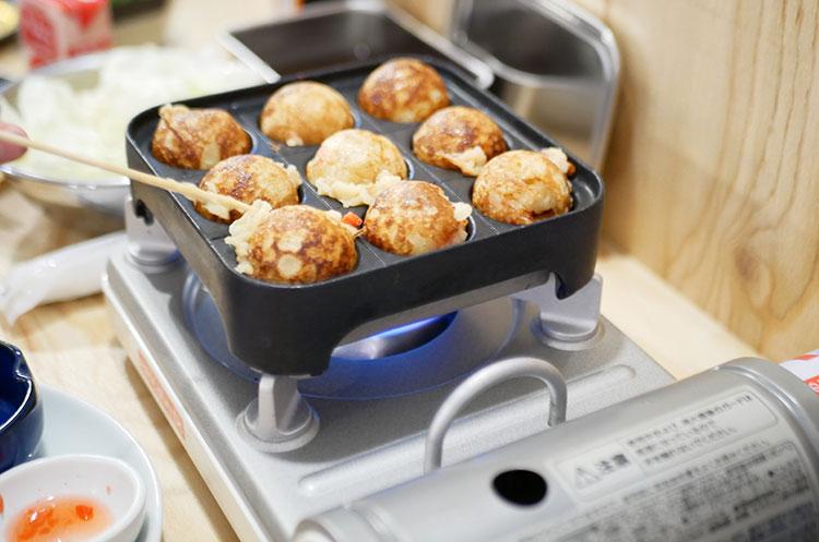 串カツ田中‗小学生以下‗無料のたこ焼きセット