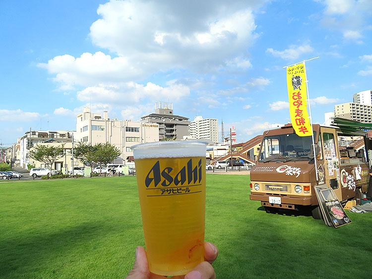 小山のビール祭り_ビール