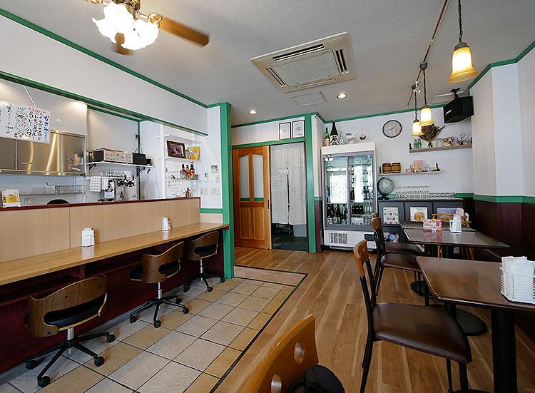 小山市‗左来良‗キッチンサクラ‗店内の様子