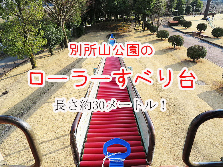 【下野市】別所山公園のローラーすべり台は穴場スポット - クラーケンハック