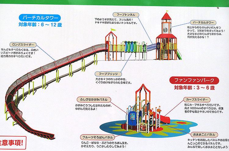 嘉多山公園 遊具