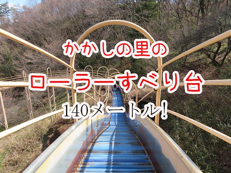 【栃木市】かかしの里 歴史を感じるローラーすべり台 - クラーケンハック