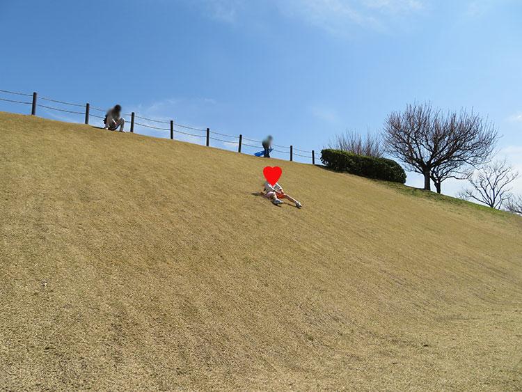 蔓巻公園 芝すべり