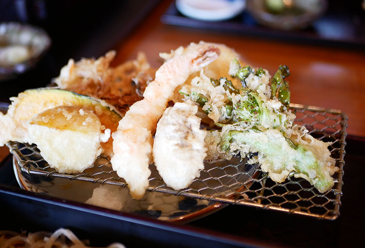 蕎麦 永(とこしえ) 天ぷら