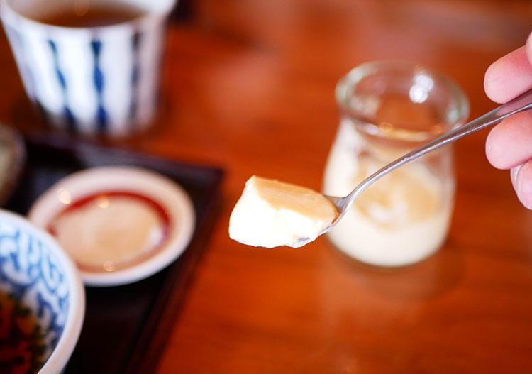 蕎麦 永(とこしえ) そば茶プリン