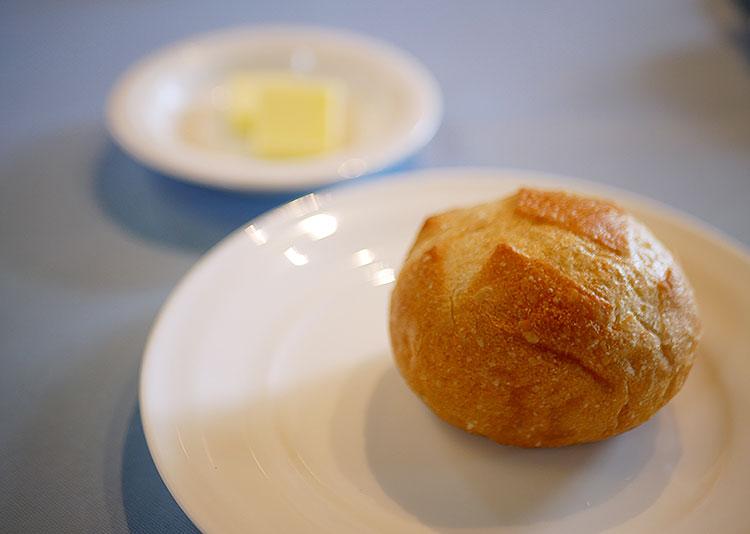 お箸でフレンチ 向日葵 パン