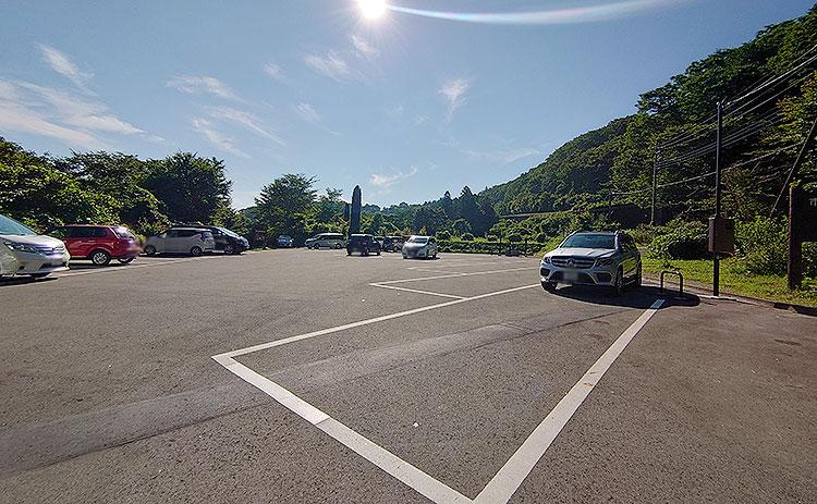 木の俣川‗駐車場‗朝
