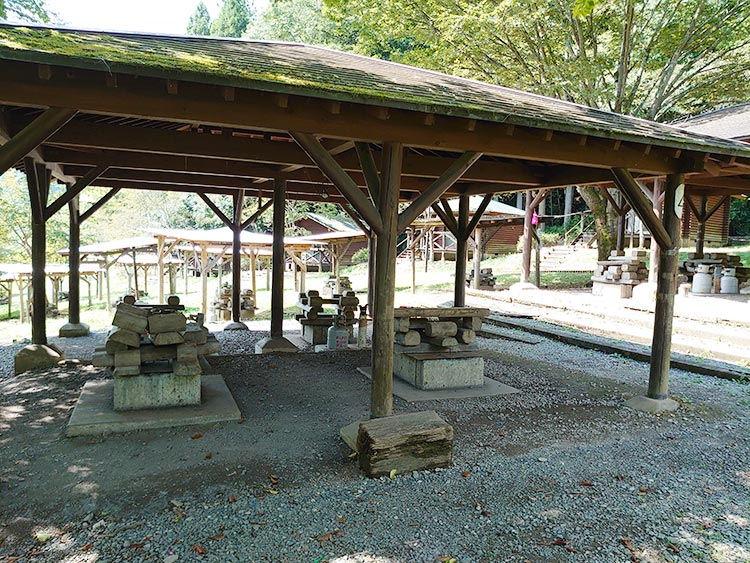 蓬山ログビレッジ‗炊事場