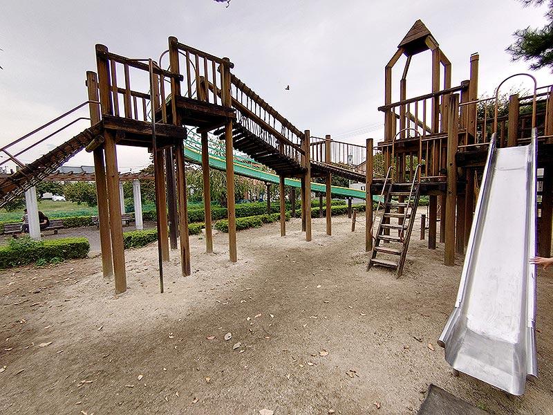 栃木県‗久下田公園‗アスレチック