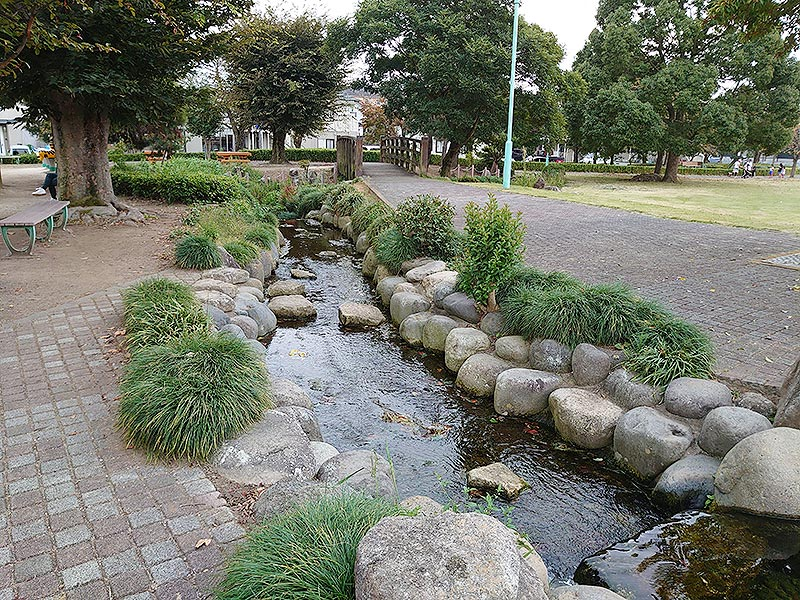 栃木県‗久下田公園‗小川