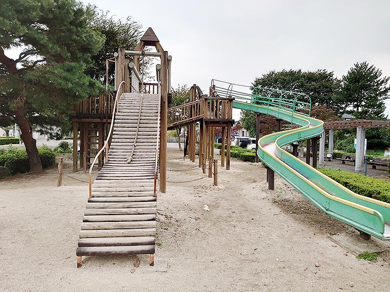 栃木県‗久下田公園‗ローラーすべり台