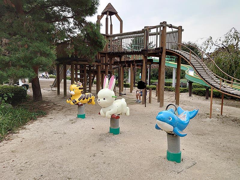 栃木県‗久下田公園‗ブランコ