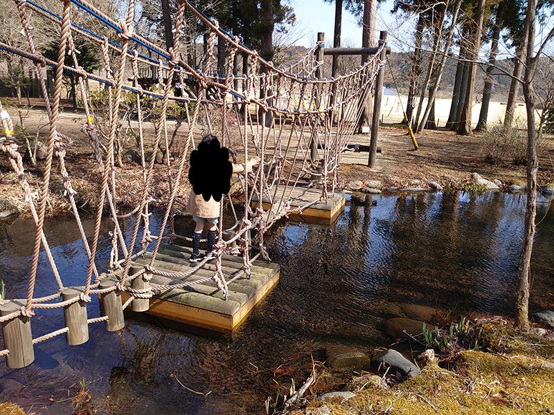 日光だいや川公園‗アスレチック‗シラサギ