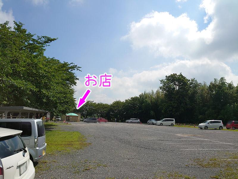 正栄デリシィ‗直売所‗駐車場